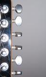 机械的吉他 免版税库存照片
