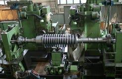机械的工厂 库存图片