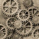机械的背景 免版税库存照片