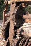 机械的齿轮 库存照片