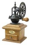 机械磨咖啡器 免版税库存照片