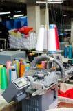 机械设备在转动的生产公司室内设计 免版税库存图片