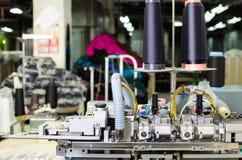 机械设备在转动的生产公司室内设计 免版税库存照片