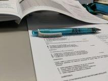 机械铅笔 免版税库存图片