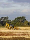 机械活动的挖掘者 库存照片