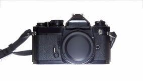机械SLR照相机 免版税图库摄影