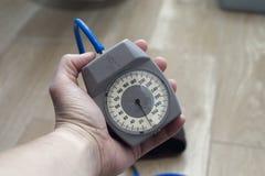 机械Tonometer 免版税图库摄影