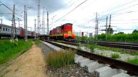 机车在铁路 股票录像