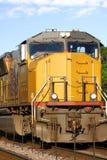 机车黄色 库存照片