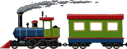 机车 向量例证