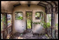 朽烂火车  库存照片