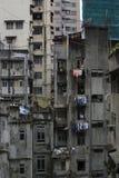 朽烂都市的香港 免版税库存照片
