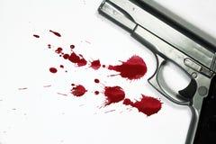 杀人 免版税库存照片
