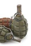 杀伤手榴弹现有量 免版税库存图片