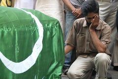 杀害巴基斯坦 免版税库存照片