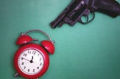 杀害时间概念 免版税库存图片