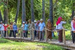 杀害领域,金边,柬埔寨 免版税库存照片