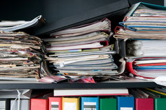 杂乱的案件 免版税库存图片