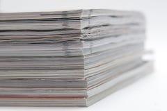 杂志一些 免版税库存照片