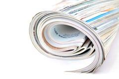 杂志卷 免版税库存图片
