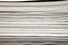 杂志报纸堆 库存照片