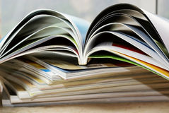 杂志 免版税库存图片