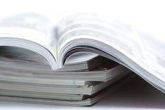 杂志 免版税库存照片