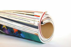 杂志 免版税图库摄影