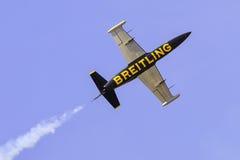杂技队Breitling喷气机队 免版税库存照片