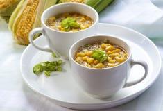 杂烩玉米 免版税库存图片