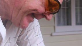 杂物工切口竹子2 影视素材