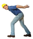 杂物工繁重的工作 免版税库存图片