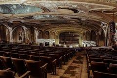 杂耍剧场-克利夫兰,俄亥俄 图库摄影