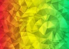 杂色三角背景 库存照片