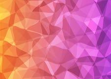 杂色几何背景 库存图片