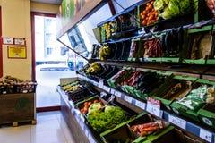杂货店内部-土耳其 免版税图库摄影