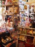 杂货店在贝瓦尼亚镇在意大利 免版税库存图片