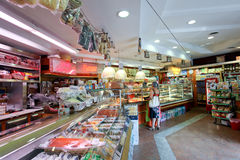 杂货店在罗马 图库摄影