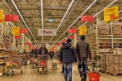 杂货店超级市场 免版税库存照片