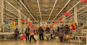 杂货店超级市场 图库摄影