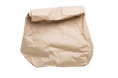 杂货纸袋 免版税库存照片