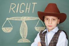 权利 免版税图库摄影