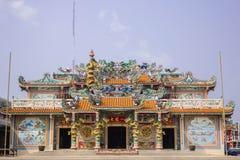 权国尹中国人的寺庙  免版税库存照片