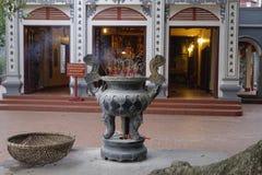 权国Thanh寺庙在河内 免版税库存照片