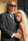 权宜婚姻 免版税库存图片
