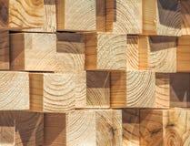 杉木木材 免版税库存图片