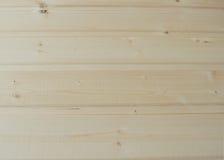 从杉木的木铣板 免版税库存照片