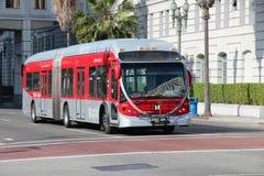 洛杉矶公共汽车 免版税图库摄影
