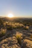 洛杉矶圣费尔南多谷黎明 免版税库存照片