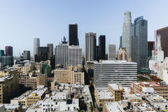 洛杉矶市看法  免版税库存照片